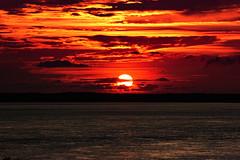 Sunsest, Darwin, Northern Territory, Australia (betadecay2000) Tags: sundset darwin northern territory sunset sonnenuntergang sonne sol sun water sea twilight clouds wetter weather weer meteo abends 2014 bicentennial park port australien australia ship outdoor heiter himmel meer dmmerung
