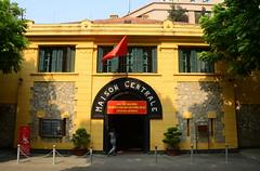 Maison Centrale (Main Entrance) (Neil Noland) Tags: vietnam hanoi oldquarter prison hanoihilton hoalo