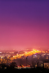 Morning city (Robert Mordarski) Tags: morning gradient city krakow lights