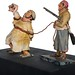 1960s+Pirates+of+the+Caribbean+maquette+-+Prisoners+and+Pirate+-+side