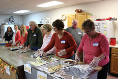 Serving the Less Fortunate (L.M. Brown) Tags: thanksgiving 2016 less fortunate mercer county aledo illinois rock island canon eos rebel t3i food impoverished serving volunteer opportunity