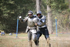 IMG_4811 (joyannmadd) Tags: renaissance hammond louisiana festival jousting birds prey celtic queens kings laren fest juggler washing well wenches wiskey bay rovers music midevil combat horse war fight armour joust dual knives knight shining run outdoor competition