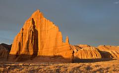 "Sunrise on ""Temple of the Moon"", Capitol Reef, Utah (tsaiproject) Tags: templeofthemoon capitolreef utah nikond800e cathedralvalley fourwheeldrive sunrise ngc"