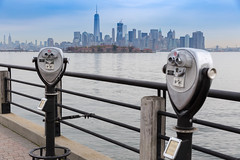 Liberty Walk at Liberty State Park (wuestenigel) Tags: newyorkcity libertywalk 2016 libertystatepark aussichtspunkt jerseycity newjersey usa us