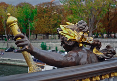 Glory. Paris Day Trip Photography 9 (adnzafar) Tags: paris eiffeltower placedelaconcorde france streetphotography photography louvre riverseine statues sepiatone sepia
