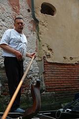 Venice, gondolier (Kurtsview) Tags: italy venice gondola gondolier boat water people