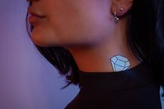 Diamond holographic (TattooForAWeek) Tags: diamond holographic tattooforaweek temporary tattoos wicker furniture paradise outdoor