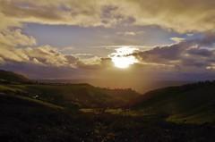 valley sheen (Sundornvic) Tags: shropshire light sun clouds hills valleys gorse sky