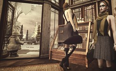 Coffee break (Fofina - Tres Chic) Tags: clef de peau vanity hair since1976 treschic november winter monthly event sl purepoison