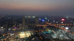 Cairo Sunset (Rckr88) Tags: cairosunset cairo sunset sun view from atop tower egypt cairotower towers city cities africa travel skyline skyscrapers sky skyscraper nile nileriver river rivers