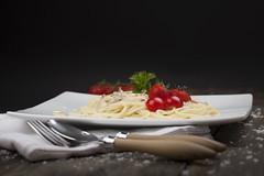 Italian dinner (ininamerethe) Tags: food dinner tomato studio still italian shoot photoshoot tomatoes pasta delicious stillife studiophoto italiano foodphotography studiophotography pastacarbonara spagetthi foodography studiophotoshoot