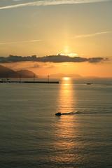 Puesta de sol Punta Galea 1 (S-a-s-a) Tags: sunset sea summer orange sol de atardecer mar spain bilbao punta puesta naranja vasco getxo cantbrico pas galea