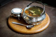 chicken soup (Melinda Kovacs-Siklosi) Tags: food kitchen soup lemon healthy egg cook vegetable sage carrot eggs veggies veggie russian pea beetroot kapern russiankitchen lifeystyle