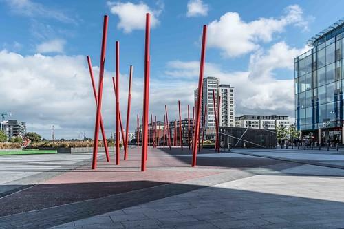 DUBLIN DOCKLANDS AREA [21 SEPTEMBER 2015] REF-10805443