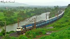 Udyan Express (AyushKamal2014) Tags: kamshet 20035 udyanexpress ublwdp4