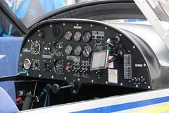 G-HMCA EV-97 TeamEurostar UK, RAF Microlight Flying Association, RAF Fairford, Gloucestershire (Kev Slade Too) Tags: cockpit gloucestershire raffairford ev97 aérospatiale egva teameurostar ghmca rafmicrolightflyingassociation riat2015