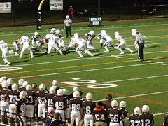 "Mount Carmel vs. St. Rita September 18, 2015 • <a style=""font-size:0.8em;"" href=""http://www.flickr.com/photos/134567481@N04/21350692400/"" target=""_blank"">View on Flickr</a>"