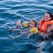 Deep sea swim