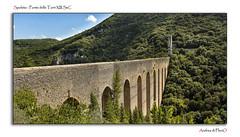 Spoleto - Ponte delle Torri XIII SeC (Andrea di Florio (5,000,000 views)) Tags: street nikon ponte romano chiesa e piazza duomo spoleto bianco nero umbria interno torri scultura delle religione d600 lucenaturale andreadiflorio