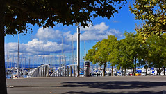 Port d'Ouchy (Diegojack) Tags: port bateaux lausanne ouchy paysages passerelle