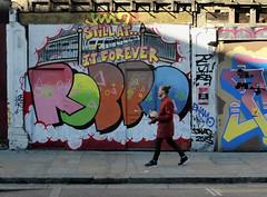 Robbo forever (donbyatt) Tags: street urban streetart graffiti spray shoreditch cans eastlondon robbo
