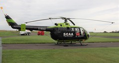 Scotland's Charity Air Ambulance (Matt Sudol) Tags: charity by for is airport air great ambulance used medical helicopter perth western bond service scone spare care emergency now critical services previously hems 76 aerodrome mbb scotlands bolkow helimed gndaa bo105dbs4