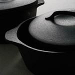 陶器製鍋(鍋敷き付き)の写真