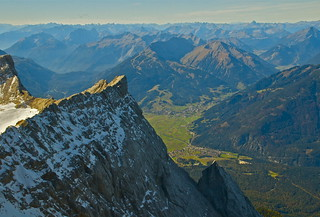 View from the Zugspitze