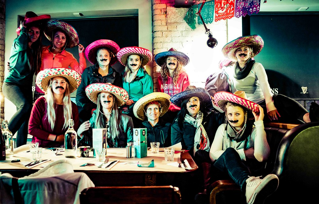 THE BEST NIGHT EVER AT THE HUNGRY MEXICAN [BODKINS ON BOLTON STREET]-108671