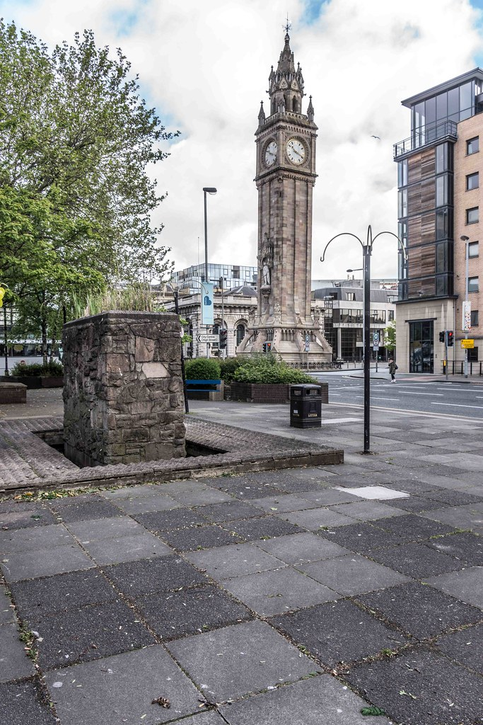ALBERT MEMORIAL CLOCK [BELFAST'S ANSWER TO THE LEANING TOWER]-108822