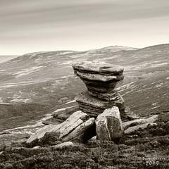 The Salt Cellar (daveh_72) Tags: blackandwhite landscape derbyshire peakdistrict olympus legacy zuiko manualfocus darkpeak 50mmf18 derwentedge saltcellar epl7