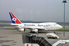 7O-YMN (VH-ANB) Tags: kul kualalumpur boeing airliner yemenia 747sp 7oymn