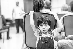 Kids are the best at weddings. They have no idea whats happening, still they are on their own trip! (_Viky_) Tags: wedding blackandwhite bw kids children blackwhite expressions innocence weddings scenes indianwedding weddingphotography