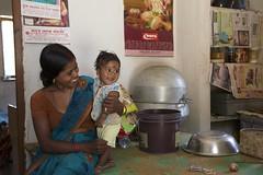 Portraits (The White Ribbon Alliance) Tags: babies mothers communityengagement home house rural india wraindia fun happy smiling wra portraits professionalphotographs whiteribbonalliance mom baby