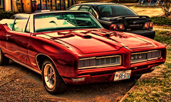68 GTO (raymondclarkeimages) Tags: usa lines car photography automobile photographer convertible american vehicle pontiac gto 68 rci imageof pictureof picof raymondclarkeimages 8one8studios