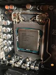 Installing CPU cooler (tyfihi) Tags: fan master hyper cooler cpu evo 120mm 212 pwm