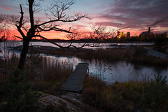 Grytudden - overlook (- David Olsson -) Tags: autumn sunset oktober lake seascape tree fall industry reed landscape pier nikon october factory sundown sweden outdoor jetty fx overlook grad chimneys vr vänern höst storaenso d800 hammarö brygga värmland 1635 2015 1635mm gnd skoghall leefilters davidolsson 06hard skoghallsverken 1635vr skoghallsbruk grytudden