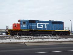 GTW SD40-2 5936 (GenericRailfan) Tags: