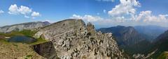 A higher place II (Xenofon Levadiotis) Tags: sky mountain lake forest landscape greek climb dragon outdoor horizon hill greece mountaineering steep epirus dragonlake   gamila zagori   konitsa ipiros    aoos tymfi