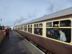 (metrogogo) Tags: boy smiling train coach kilt steam tartan kilted tyseley gwr openday