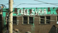 Free Syria (Nicholas Eckhart) Tags: america us usa 2016 retail stores cleveland ohio oh