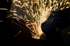 Sparks in the air (bojan_vutov) Tags: fire sparks powertool