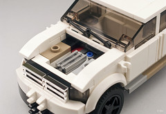 WIP: D9 _ MNU Security Vehicle / Toyota Hilux (_Tiler) Tags: car truck lego security toyota vehicle hilux mnu district9 securityvehicle multinationalunited