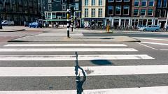 Prins Hendrikkade (MJ Klaver) Tags: amsterdam lumix empty zebra crosswalk asphalt prinshendrikkade zebrapad lumix5 lumixlx5