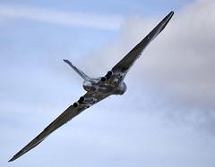 Vulcan (Bernie Condon) Tags: uk classic tattoo plane vintage flying display aircraft aviation military jet delta airshow vulcan preserved bomber raf warplane airfield avro ffd fairford riat royalairforce raffairford airtattoo xh558 vtts riat15