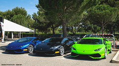 Musketeers (Gaetan | www.carbonphoto.fr) Tags: auto blue italy verde green car speed mantis italia great fast huracan automotive exotic coche incredible lamborghini luxury supercar castellet hypercar worldcars carbonphoto