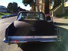 Plymouth Valiant on Haight Street, San Francisco