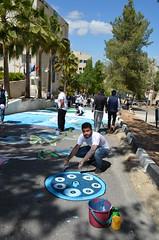 DSC_0141 (Al Ahliyya Amman University) Tags: street flowers students colors painting colorful university pretty time weekend president amman happiness jo jordan characters aau joyful       ccbysa  ahliyya          balqa      alsaro