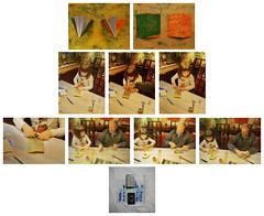 """Kalender Kleisterpapier. Geschenk einpacken. Tapisserie Tagebuch Kette: nicht diese Kassette Lesung F. H. """"Warum sind die Menschen so renitent gegen Wahrheiten"""" (Raritt, Ausschnitte privat, Geschenk, vor allem: siehe Kommentar) und nicht Baumwollkettgarn (hedbavny) Tags: vienna wien christmas blue winter red white color green rot writing weihnachten private gold austria evening abend sterreich friend hand calendar diary herbst tapis cotton envelope present letter marble grn weaver blau kalender lesung schrift farbe geschenk tagebuch bau freund weber tapestry teppich handwerk privat hausbau baumwolle marmor workingroom analogie werkstatt holzer tapisserie einpacken marbledpaper handschrift weis umschlag pastepaper aufnahme buchstabe verpacken buchbinder graphologie einband marmoriert aktionismus kleisterpapier bildwirkerei teppichweber privateness hedbavny ingridhedbavny"""