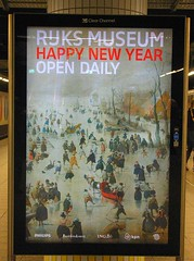 HAPPY NEW YEAR (streamer020nl) Tags: winter holland ice netherlands amsterdam iceskating hiver skating eis rijksmuseum happynewyear ijs schaatsen ijspret explored